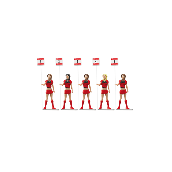 Carrera Slot Accessories - Grid Ladies (20021123)