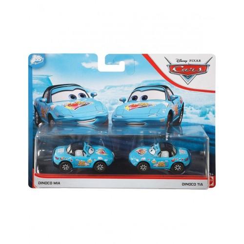 Mattel - Cars Next Generation Racers Dinoco Mia And Dinoco Tia (GKB77/DXV99)