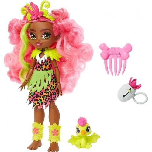 Mattel Cave Club - Fernessa Κούκλα Και Ptilly GNL85 (GNL82)