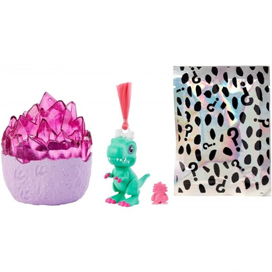 Mattel Cave Club™ Dino Baby Crystals, Surprise Pet with Accessories and Slime or Sand (GVR69)