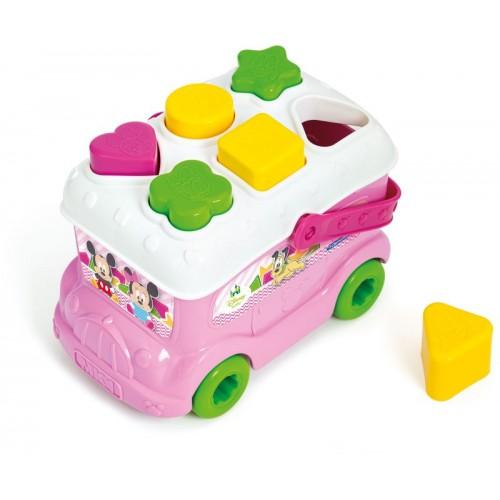 Disney Baby Λεωφορειάκι με Σχήματα Minnie (1000-14933)