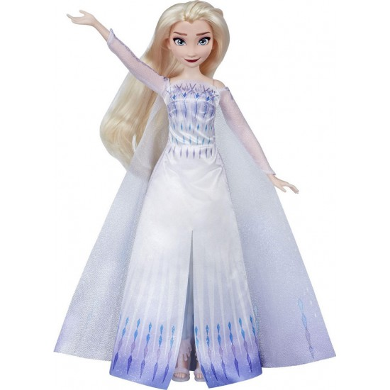 Hasbro Disney Frozen Musical Adventure Elsa Κούκλα Που Τραγουδάει  (E9717)