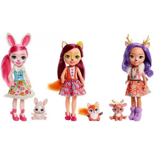 Mattel Enchantimals Μεγάλη Κούκλα (FRH51)