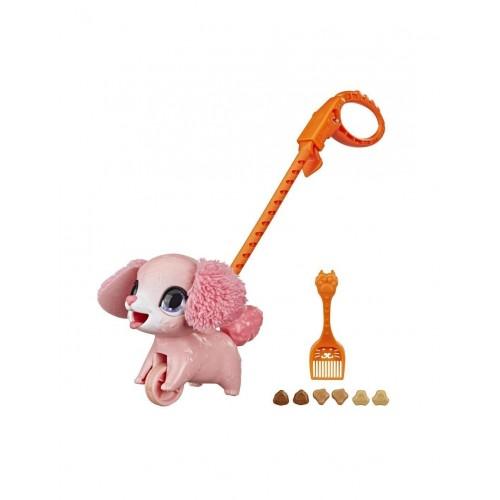 Hasbro Furreal Friends Poopalots Lil Wags Puppy Κουταβάκι Ροζ (E8899/E8951)
