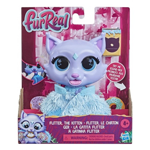 Hasbro Furreal Flitter Friends The Kitten Color-Change (F1827/F1545)