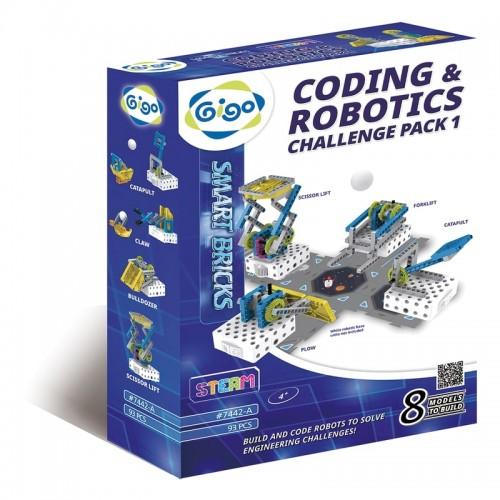 Gigo Coding & Robotics: Challenge Pack 1 (407442A)