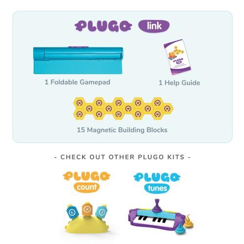 Plugo Link by PlayShifu Σύστημα παιδικού παιχνιδιού Επαυξημένης Πραγματικότητας κατασκευών με τουβλάκια ( Shifu019)