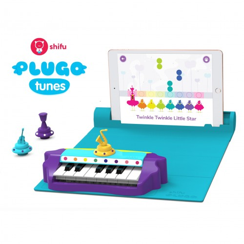 Plugo Piano by PlayShifu Σύστημα παιδικού παιχνιδιού Επαυξημένης Πραγματικότητας γνώσεων με μουσική (Shifu022)
