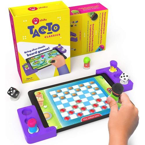 Plugo Tacto Classics by PlayShifu Σύστημα παιδικού παιχνιδιού που μετατρέπει το tablet σας σε Διαδραστικό Επιτραπέζιο Παιχνίδι (Shifu036)