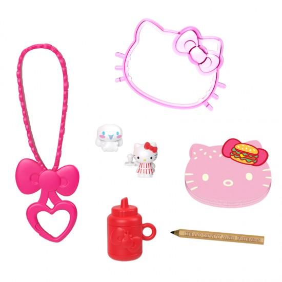 Mattel  Hello Kitty Σετ Hamburger Diner Με Σημειωτάριο (GVB28/GVB27)
