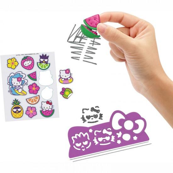 Mattel Hello Kitty Κασετίνα & Σετ Παιχνιδιού Beach Pencil Playset (GVC40/GVC39)