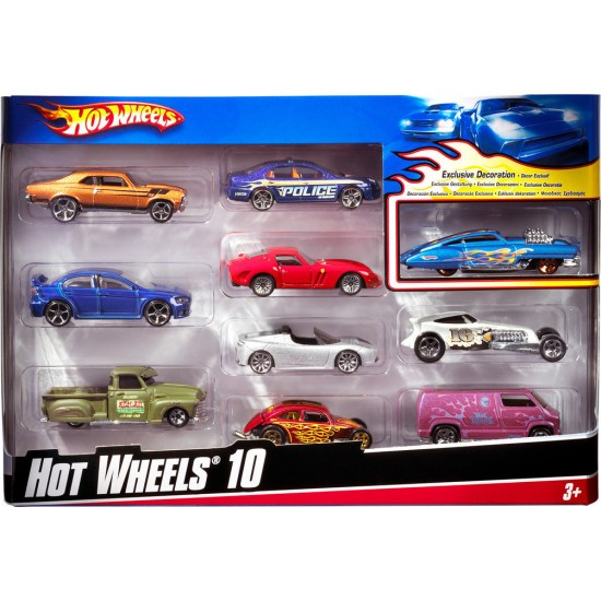 Hot Wheels: Αυτοκινητάκια Σετ των 10