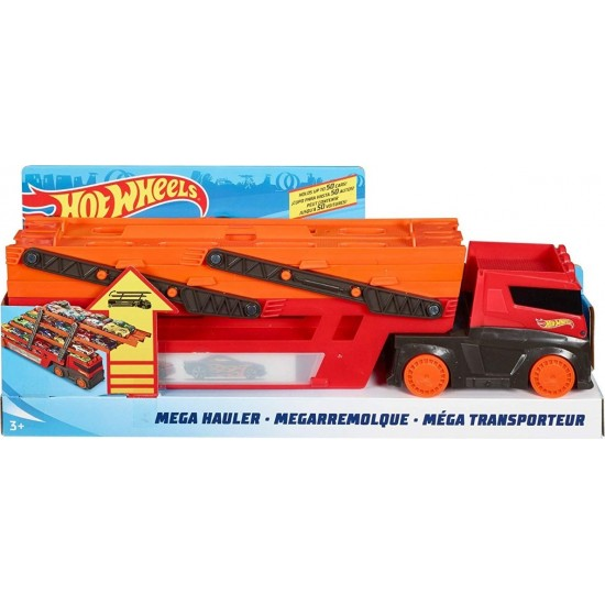 Hot Wheels Mega Hauler Νταλίκα Γκαράζ Έξι Επιπέδων (GHR48)