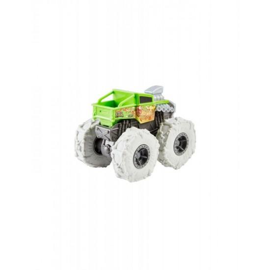 Mattel Hot Wheels Monster Trucks Twisted Tredz Bone Shaker Vehicle (GVK37/GVK38)