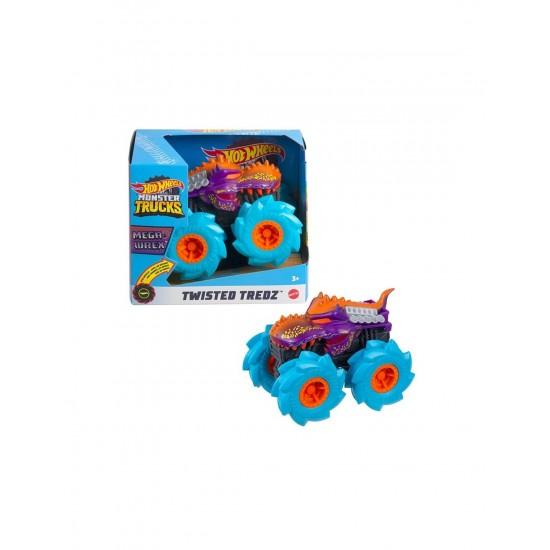 Mattel Hot Wheels Monster Trucks Twisted Tredz Mega Wrex Vehicle (GVK37/GVK39)