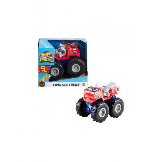 Mattel Hot Wheels Monster Trucks Twisted Tredz ragin Cagin Vehicle (GVK37/GVK41)