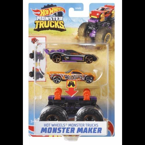 Hot Wheels Monster Trucks Maker Bone Shaker (GWW13/GWW16)
