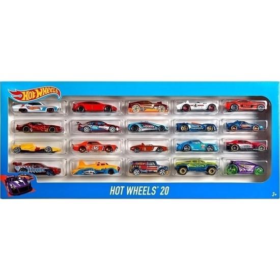 Hot Wheels Αυτοκινητάκια Σετ των 20 (H7045)