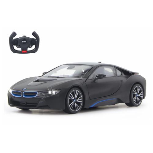 JAMARA BMW I8 1:14 black door open vi a RC(404570)