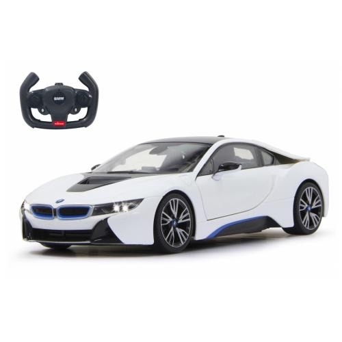 JAMARA BMW I8 1:14 white door open vi a RC(404571)