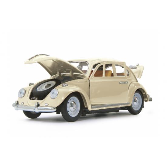 VW Beatle 1:18 RC Die Cast cre am white 40MHz(405111)