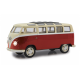 VW T1 Bus 1:24 Diecast red LED Sound pullbackmotor(405145)
