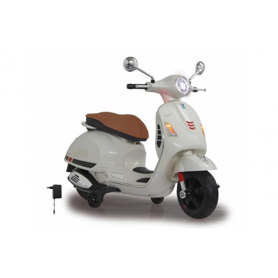 Ride-on Vespa GTS 125 white 12V(460346)