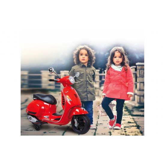 Ride-on Vespa GTS 125 red 12V(460348)