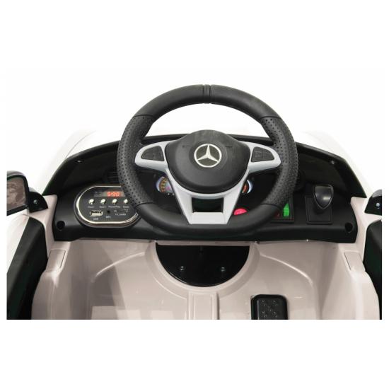 Ride-on Mercedes-AMG GT R white 2,4G 12V(460362)