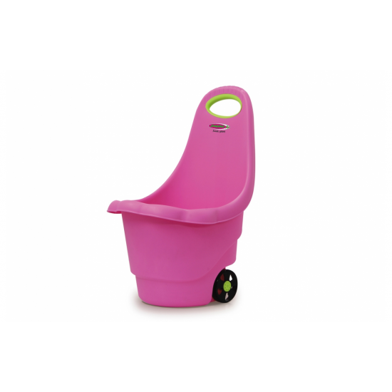 Toy Trolley Rolly Ron pink(460424)