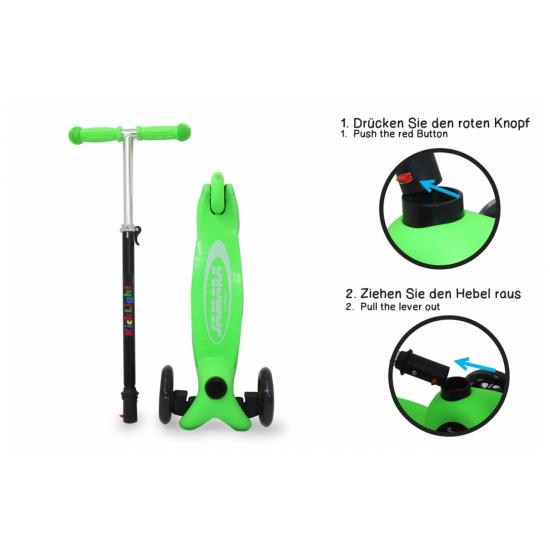 KickLight Scooter grün(460495)