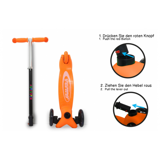 KickLight Scooter orange(460496)