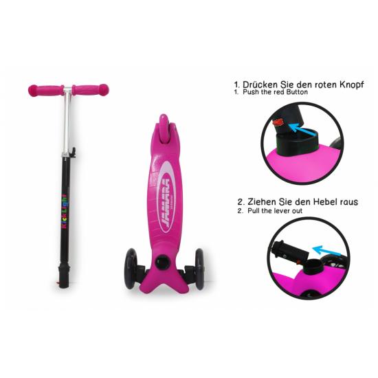 KickLight Scooter pink(460497)