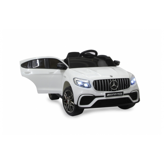 Ride-on Merecedes-Benz AMG GLC 63 S Coupe white (460647)