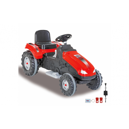 JAMARA Ride-on Traktor Big Wheel 12V rd (460785)