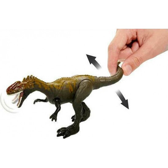 Mattel - Jurassic World Βασική Φιγούρα Δεινόσαυρου Με Σπαστά Μέλη Monolophosaurus (GVG51/GCR54)