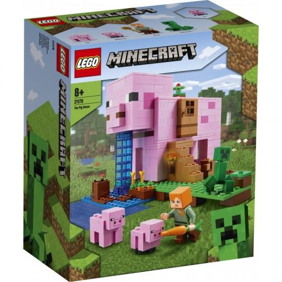 Lego Minecraft The Pig House (21170)