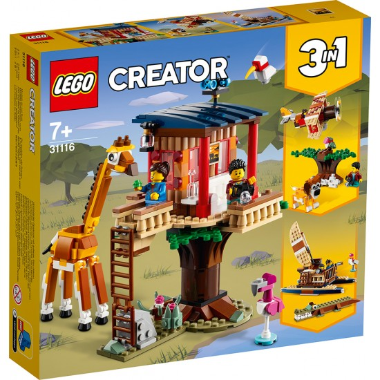 Lego Creator Safari Wildlife Tree House (31116)