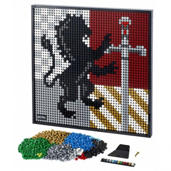 Lego Art Harry Potter Hogwarts Crests (31201)