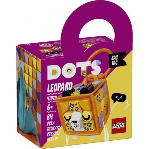 Lego Dots Bag Tag Leopard (41929)