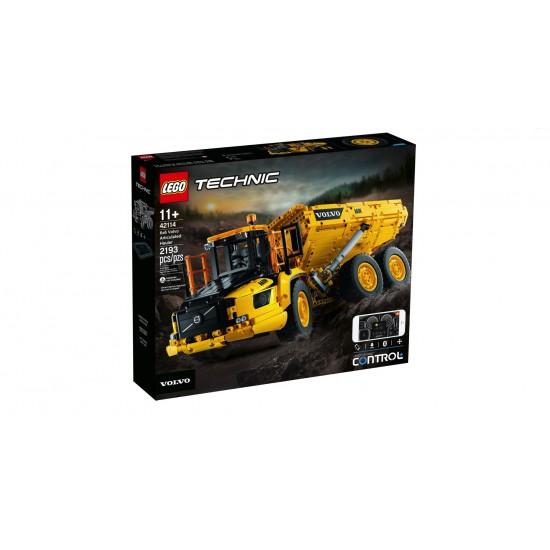 Lego Technic 6x6 Volvo Articulated Hauler (42114)