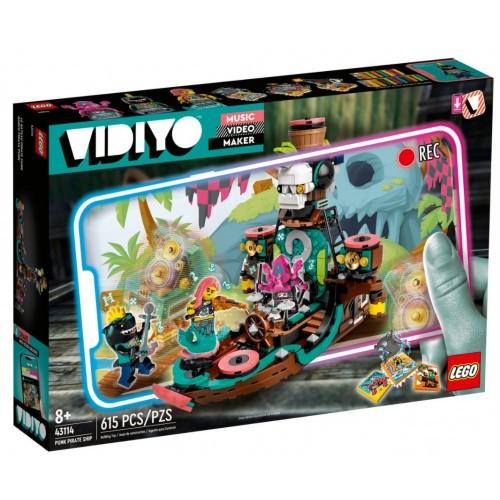 Lego Vidiyo Punk Pirate Ship (43114)
