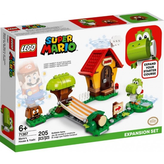 Lego Super Mario House & Yoshi Expansion Set (71367)