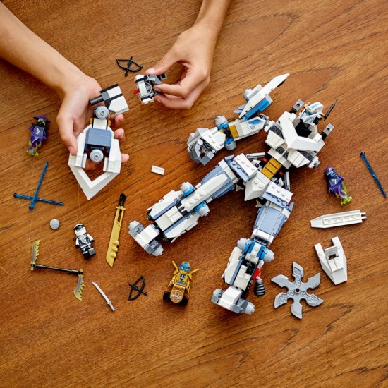 Lego Ninjago Legacy Zanes Titan Mech Battle Ninja (71738)