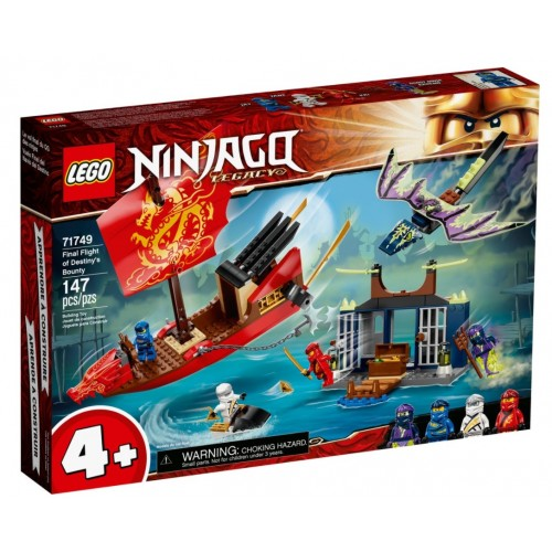 Lego Ninjago Final Flight of Destiny's Bounty (71749)