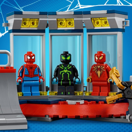 Lego Marvel Spider Man Attack on the Spider Lair (76175)