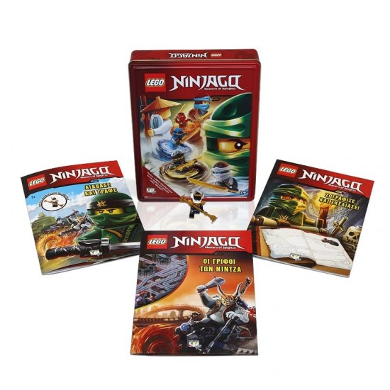 Lego Ninjago: Η κασετίνα των Νίντζα - Εκδόσεις Ψυχογιός (9786180130164)