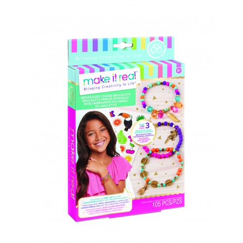Make it Real - Bedazzled! Charm Bracelets - Graphic Jungle (1201)