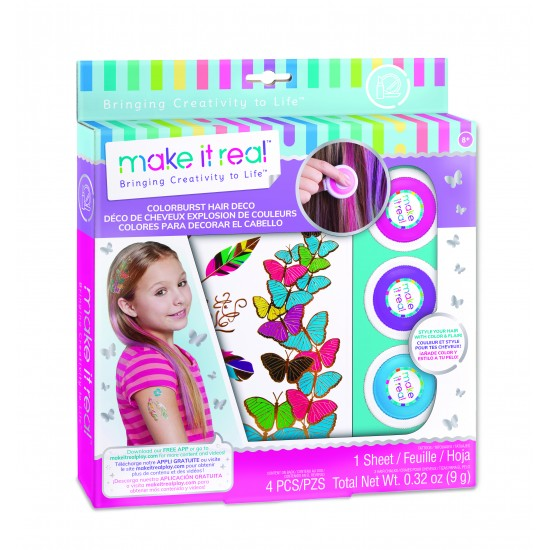 Make it Real - Color Burst Hair Deco (Special order Only) (2302)