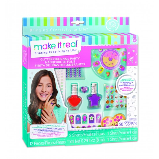 Make it Real - Glitter Girls Nail Party ( Price Variation Possible) (2306)